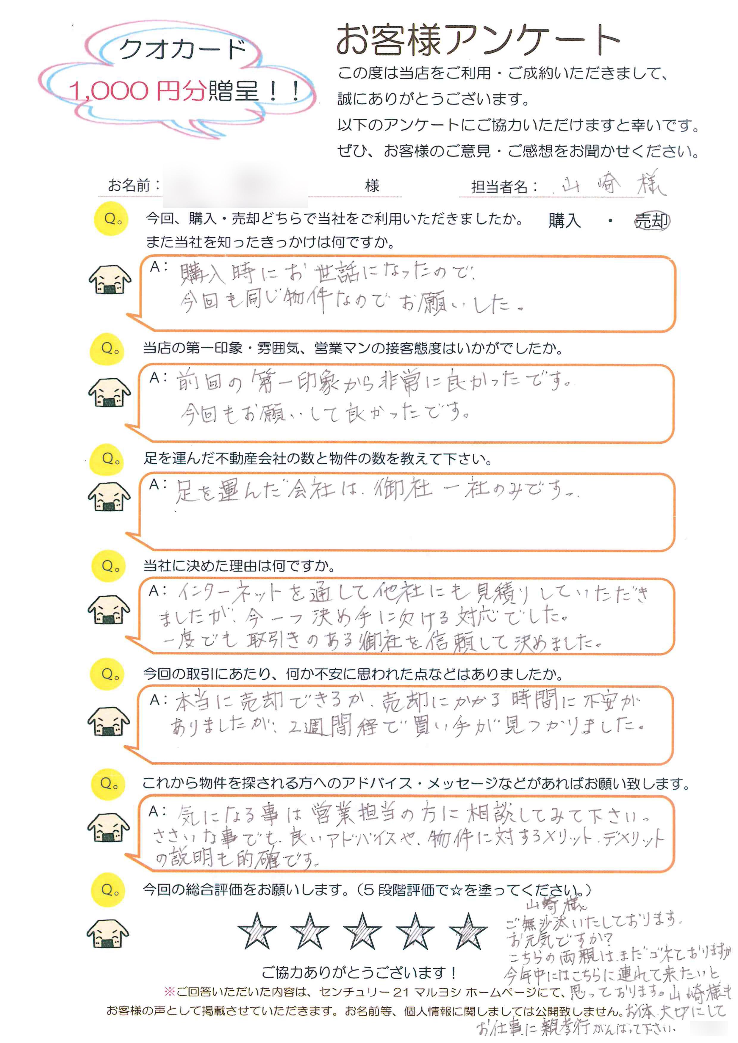 N様(不動産ご売却)